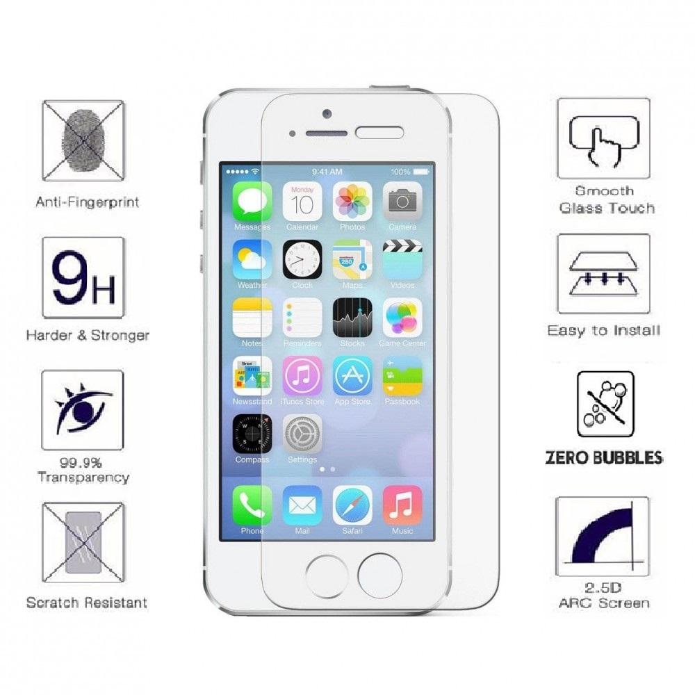 Стъклен протектор за iPhone 5/5S