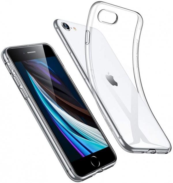 Силиконов прозрачен калъф за iPhone 7/ 8/ SE2