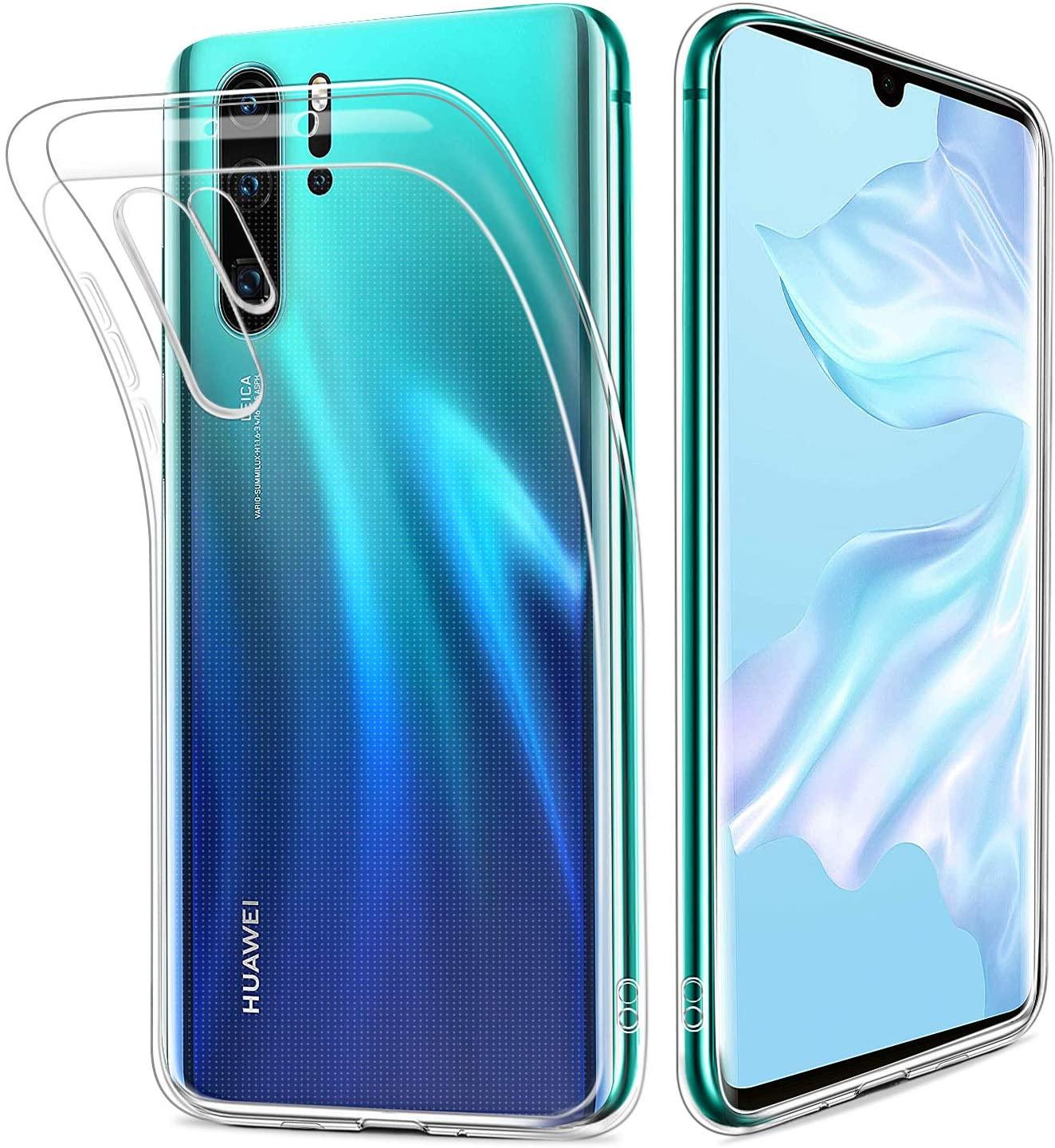 Силиконов прозрачен калъф Huawei P30 Pro