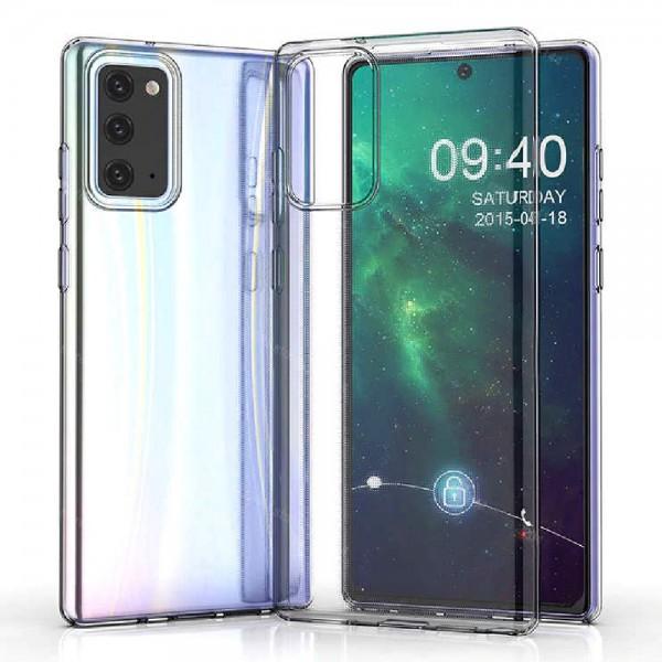 Силиконов прозрачен калъф за Samsung Galaxy Note 20