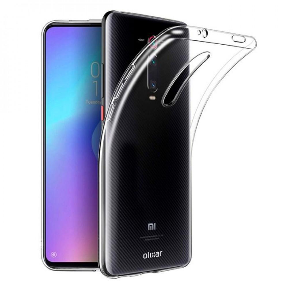 Силиконов прозрачен калъф за Xiaomi Mi 9T/ Mi 9T Pro