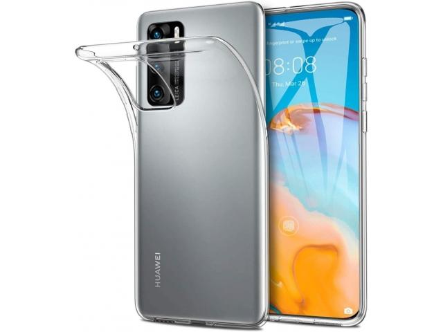 Силиконов прозрачен калъф за Huawei P40 Pro