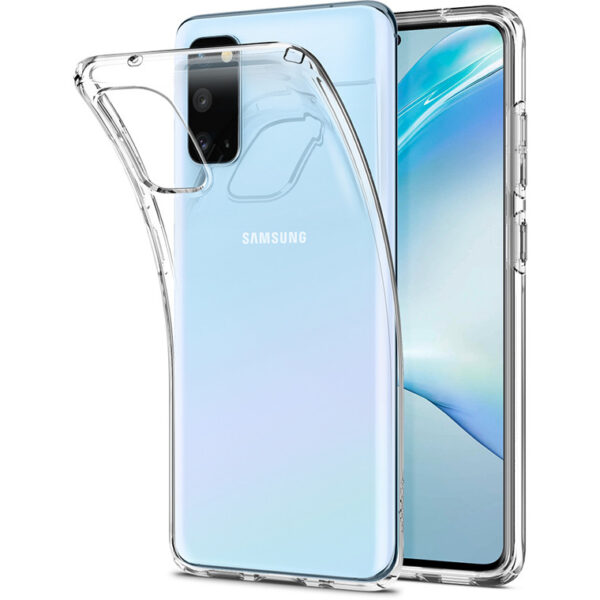 Силиконов прозрачен кейс за Samsung Galaxy S20