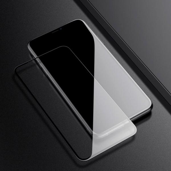Стъклен протектор закалено стъкло - iPhone 11 Pro (5.8), Черен