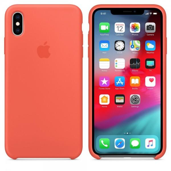 Силиконов кейс за Apple iPhone XS Max, Корал