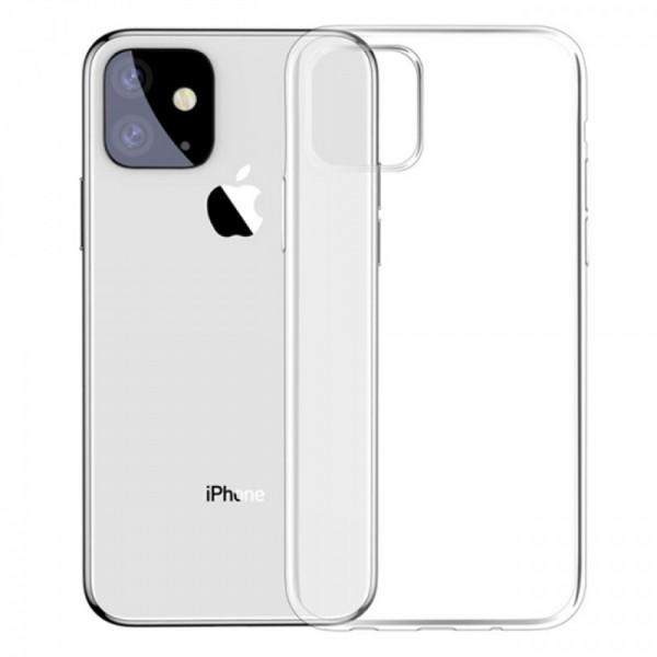 Силиконов калъф за iPhone 11 Pro Max (6.5), Прозрачен