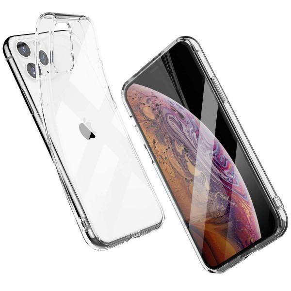 Силиконов прозрачен калъф за iPhone 11 Pro (5.8), Прозрачен
