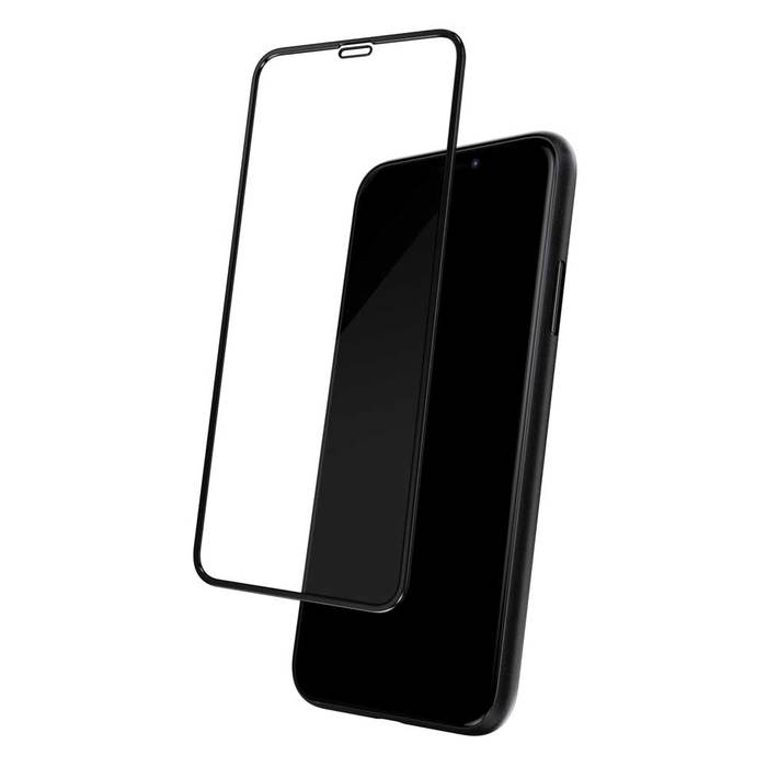 Стъклен протектор за iPhone 11,Черен