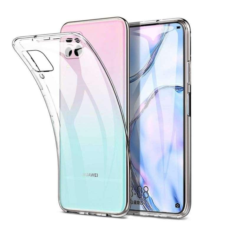 Силиконов прозрачен калъф за Huawei P40 Lite