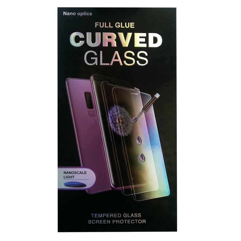 5D стъклен протектор за дисплей+лампа за Huawei P40 Lite, Прозрачен