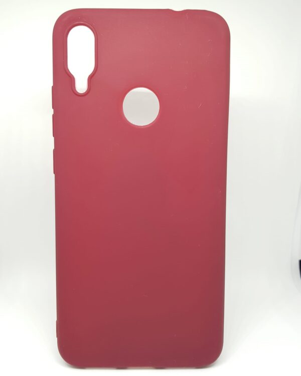 Силиконов матиран кейс iPaky за Xiaomi Redmi Note 7, Брордо