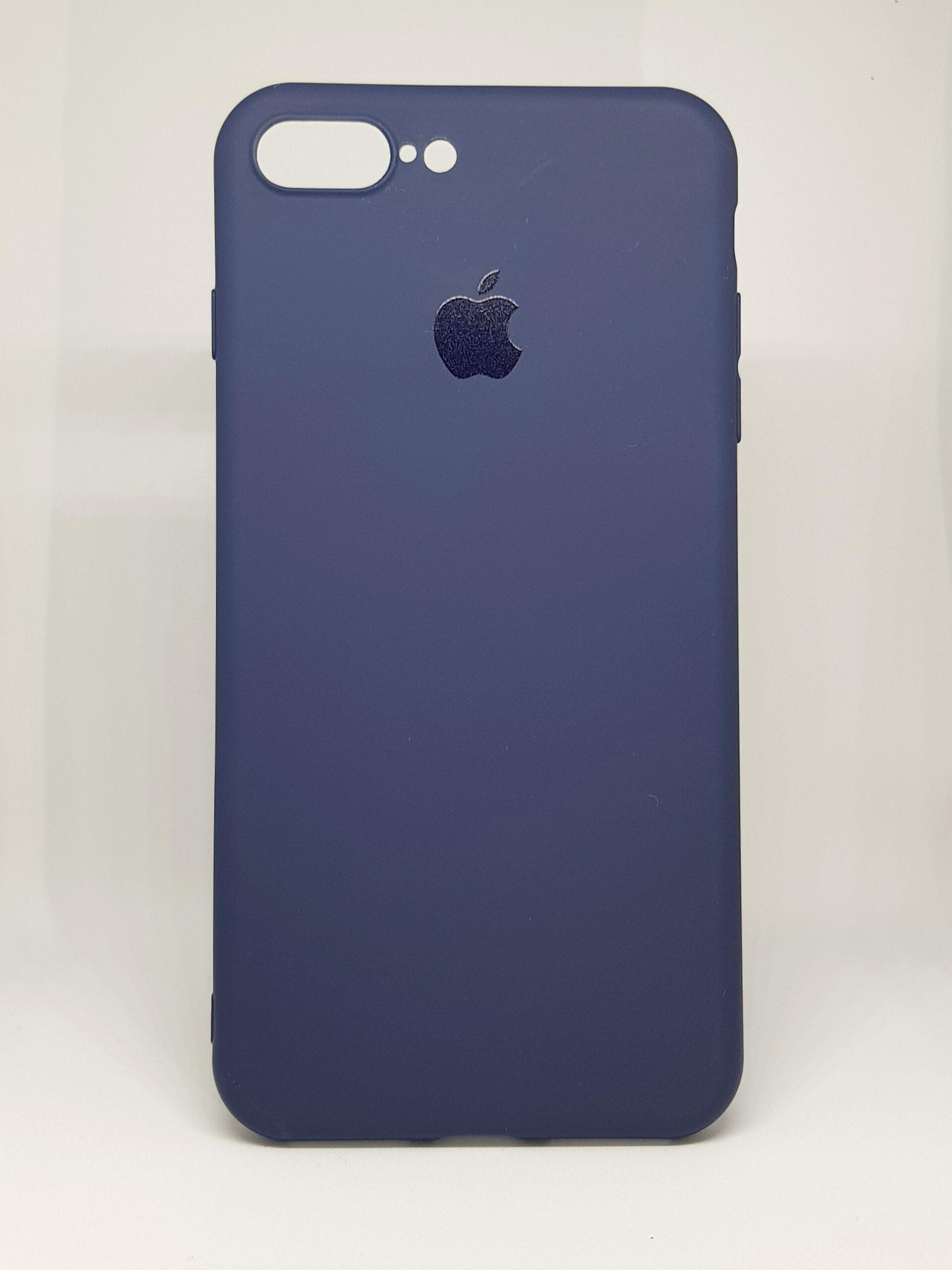 Силиконов калъф за Apple iPhone 7/ 8 Plus, Тъмносин