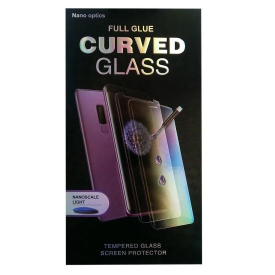 5D стъклен протектор за дисплей+UV лампа за Samsung Galaxy Note20, Прозрачен
