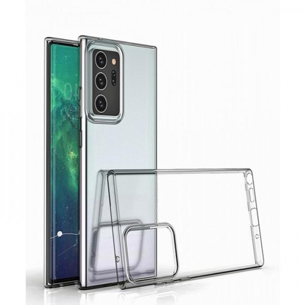 Силиконов кейс за Samsung Galaxy Note20 Ultra, Прозрачен