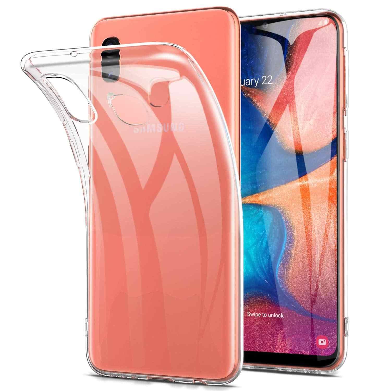 Силиконов кейс за Samsung Galaxy A20e, Прозрачен