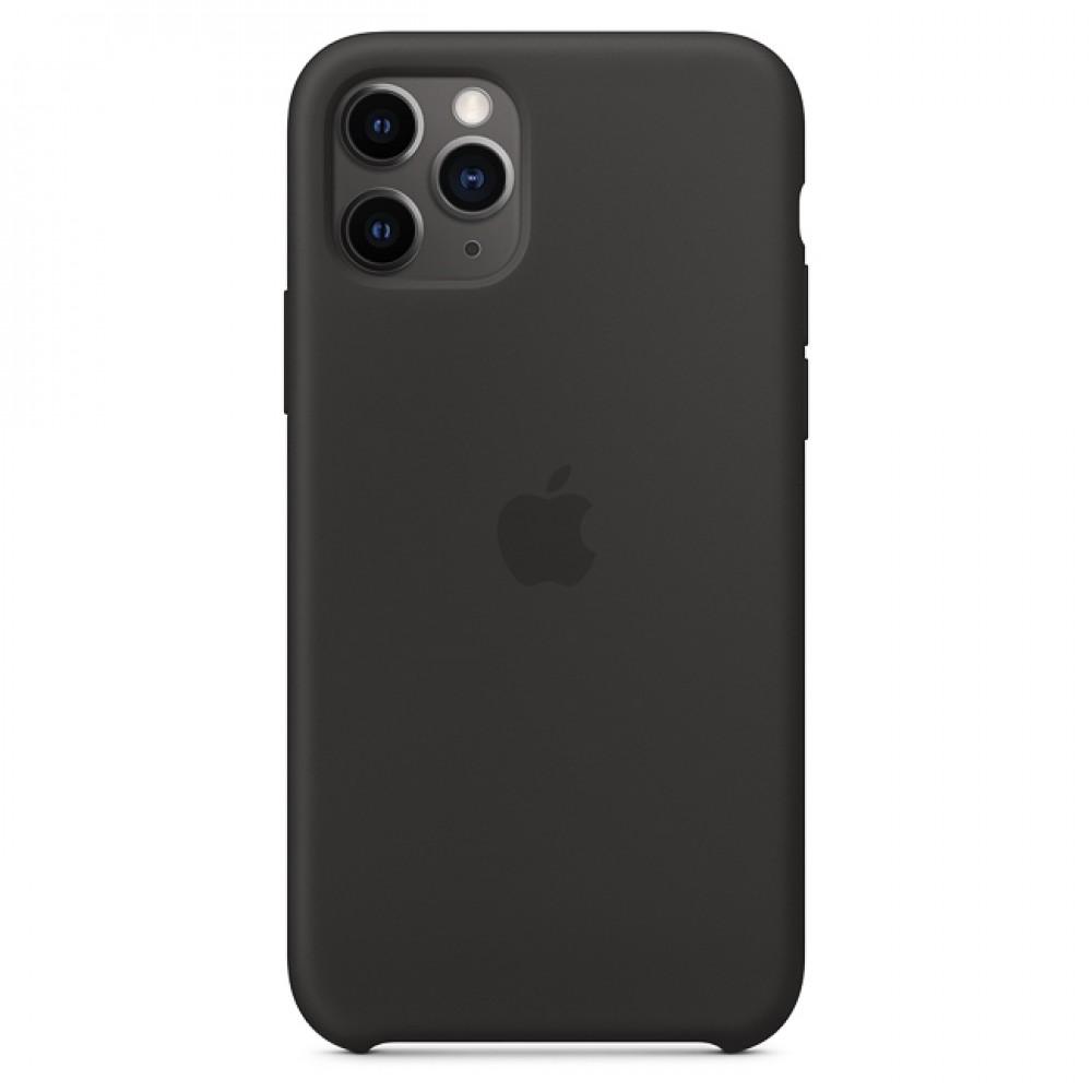 Силиконов кейс за iPhone 11 (6.1),Черен
