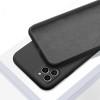 Силиконов кейс за iPhone 12 (6.1), Черен