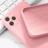 Силиконов калъф за iPhone 12 (6.1), Розов