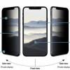 Privacy стъклен протектор за дисплей - iPhone 11/XR